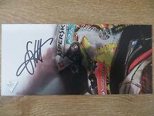 Handsignierte Autogrammkarte *SEBASTIAN VETTEL* FERRARI Formel 1 Saison 2016 #1