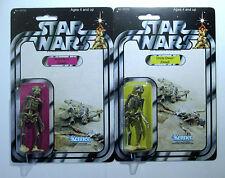 Personalizada Estilo Vintage Star Wars Figura muertos tío Owen y tía BERU Carbón