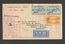 Old Cover Air Mail Newfoundland  Canada