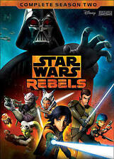 Star Wars Rebels: The Complete Season 2 (DVD, 2016, 4-Disc Set)