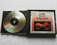 KUIJKEN/BACH Sonatas & Partitas BWV 1001-1006 GERMANY 2CD box DHM GD77043 (1990)