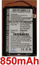 Batterie 850mAh type IA1TA16A0 IA1W416A2 IA1W721H2 Pour Palm Zire 72