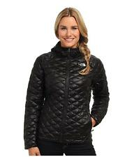 WOMEN THE NORTH FACE THERMOBALL HOODIE INSULATED FULL ZIP HOODED JACKET BLACK M