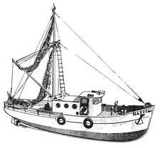 NAXOS, griechisches Fischereifahrzeug  Bauplan RC  Modell