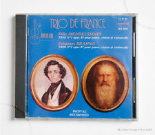 SEALED TRIO DE FRANCE MENDELSSOHN BRAHMS quantum CD NOS OOP MINT