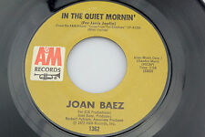 Joan Baez: In the Quiet Mornin' / To Bobby  [Unplayed Copy]