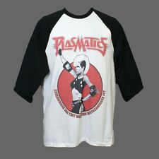 Plasmatics Metal Punk Rock Double Sided Baseball Style 3/4 Sleeve T-shirt XL