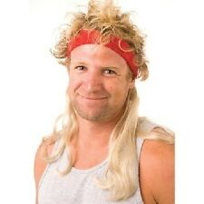 Mullets on the Go Fancy Dress Headband with Hair Mullet The Widowmaker 1st Class