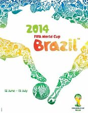 2014 World Cup POSTCARD of Poster