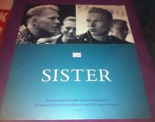 Bros - Sister VERY RARE SHOP ONLY PROMO LARGE STAND UP DISPLAY Matt & Luke Goss