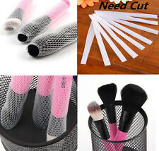 30Pc Cosmetic Make Up Brush Pen Netting Cover Mesh Sheath Protectors Guards DRKU