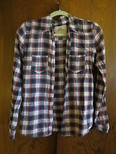 Hollister Check Plaid Shirt 2009 ASO Bella Swan Twilight Eclipse Size Small