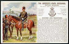 7th (QUEEN'S OWN) HUSSARS. History & Traditions No.17. (line change) 1912