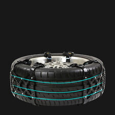 Car Vehicle Off-Road SUV Snow Tire Wheel Chain Anti-skid Belt Universal Black US
