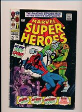 Marvel Super-Heroes SPIDER-MAN #14 SILVER AGE GOOD/VERY GOOD (SRU564)