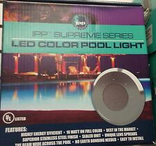 Universal Color Light 4.0 LED Inground Swimming Pool Light SS 50' Cord Fits