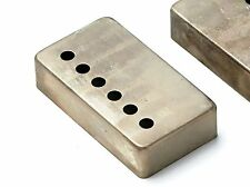 Montreux Retrovibe Series Humbucker Nickel Silver Cover - Relic ® - Single Cover