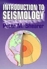 Introduction to Seismology by Shearer, Peter, Good Book