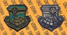 USAF Air Force Aerospace Audiovisual Service OD Green & Black patch
