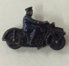 Dinky Toys Police Motorcycle -- Made in England
