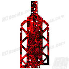 HPI BAJA 5B SS 5T 5SC Chassis Plate Protector - Thick Graphics - Grafitti