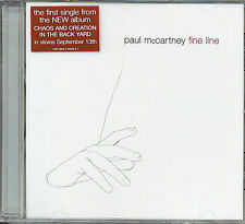 PAUL McCARTNEY  Fine Line   STILL SEALED CD single with PicCover  THE BEATLES