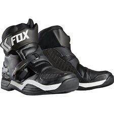 2017 Fox Racing Bomber Half ATV/MX/Street Black Boots Adult Size 11