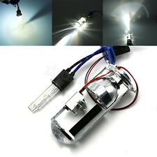 "2x 1.5"" Mini Projector Lens H4 BI-XENON HID Hi/Lo Car Motorcycle Lamp Bulb New"