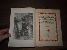 1937 INDIAN MANTAS Y SU AFICIONADOS FÚTBOL DE WHARTON JAMES - NORTEAMÉRICA