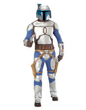 "Star Wars Mens Jango Fett Costume, Std,CHEST 44"",WAIST 30-34"",INSEAM 33"""