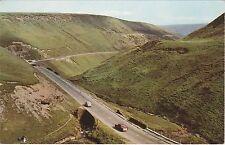 Derbyshire - Snake Pass - 1960's Postcard
