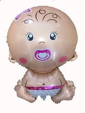 Folienballon Baby Mädchen Heliumballon Luftballon Kindergeburtstag