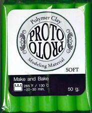 FIMO CERNIT -1 panetto di Proto Polymer Clay simil Fimo - Verde chiaro