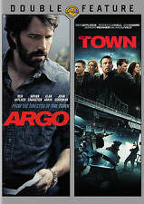 Argo & The Town Double Feature  DVD, 2015, 2-Disc Set Ben Affleck FAST SHIPPING