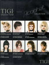 /UNDERCUT/COLOR/HAIR DRESSING/TIGI/TONI&GUY 'RICOCHET' 6 DVD SET/NVQ/BRIDAL 22