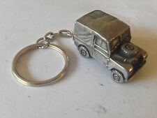 Land Rover Series 1 SWB  3D split-ring keyring FULL CAR ref112