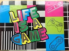 Life Is A Game! Rare Games Console Hinged Storage Tin. From Derrière La Porte