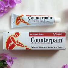 3 pcs 60g COUNTERPAIN HOT Analgesic Balm - Muscular Aches and Pain Relieves