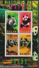 Malawi 2010 MNH SS, Panda, Wild Animals