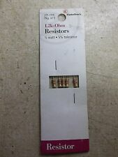 NEW NOS Radio Shack 271-1119 5-Pack 1.2k Ohm Resistors *FREE SHIPPING*