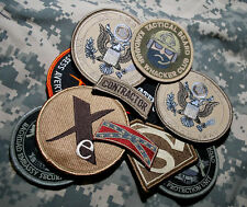 US EMBASSY BAGHDAD/KABUL STATE DEPT WPS CONTRACTOR ELITE TEAM 9-VELCRO-SSI SET