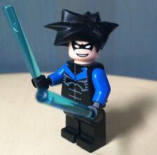 Lego Batman Arkham Asylum Nightwing Minifigure 7785 2006
