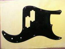 Precision bass electric guitar pickguard solid black scratch plate PB BBB-D  new