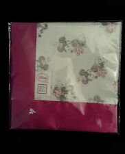 Swaddle Designs Disney Minnie Mouse Pink White Satin Security Blanket Lovey Baby