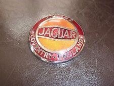Vtg 1954 1955 1956 1957 Jaguar XK140 Roadster Sports Car Grille Badge Emblem