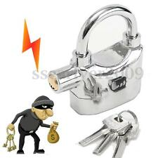 Siren Alarm Lock Security Sound Anti-Theft Motor Bicycle Moped Padlock Bike Door