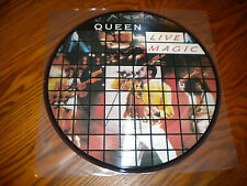 QUEEN Promo  Vinyl LP Pic.Disc- LIVE MAGIC - Freddie Mercury