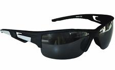 Sportbrille Sonnenbrille Schwarz Grau Black Motorradbrille Radbrille Sport M 25