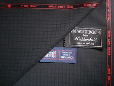 100%SUPER 150's WOOL  THE LION  SUITING FABRIC MADE IN HUDDERSFIELD ENGLAND 3.4m