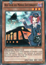 YU GI OH  -  BUS TOUR DEL MONDO SOTTERRANEO - BP02-IT105 - COMUNE 1°ED - MINT